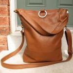 3 Way Leather Tote Bag In ..