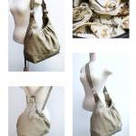 Large leather bag 3 way con..